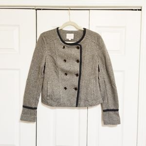 Loft Felted Military Style Jacket / Blazer